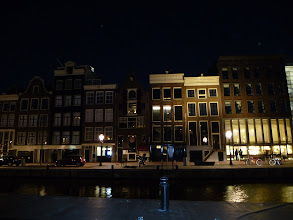 Photo: Anne Frank's House at night