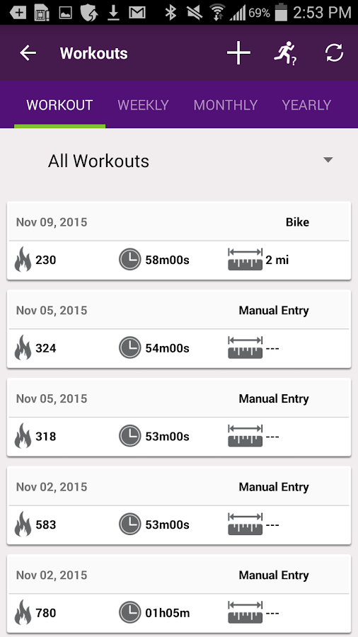 Youfit- screenshot