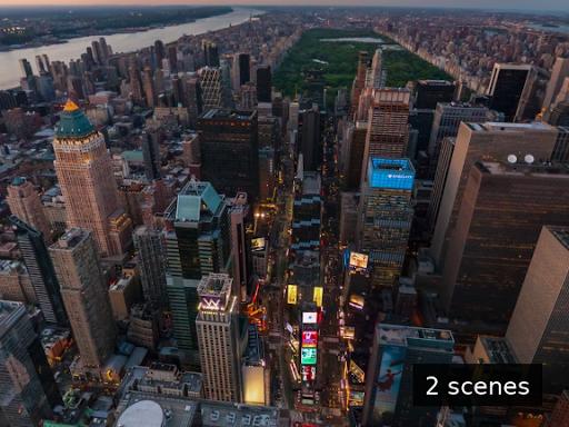 Arquitectura de los rascacielos New York City
