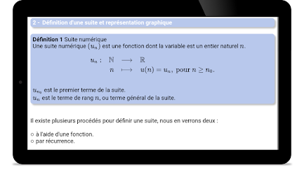 Maths TS : Suites Pro APK screenshot thumbnail 6