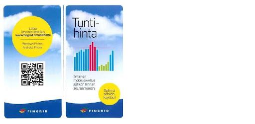 Fingrid Tuntihinta
