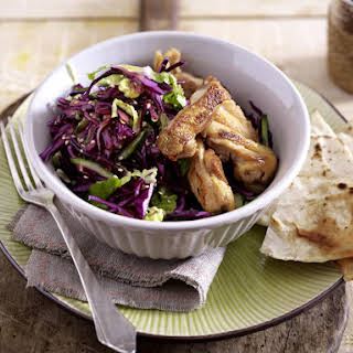 Chicken and Red Cabbage Salad.