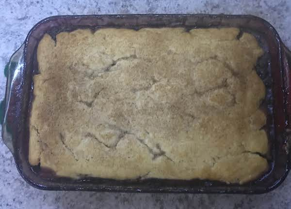 Peachy, Blueberry Cobbler