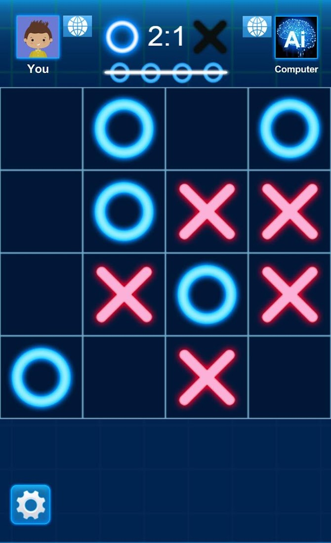 Tic Tac Toe Android 10
