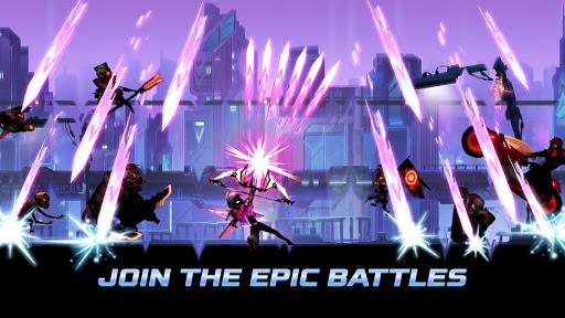 Cyber Fighters: Legends Of Shadow Battle apkpoly screenshots 8