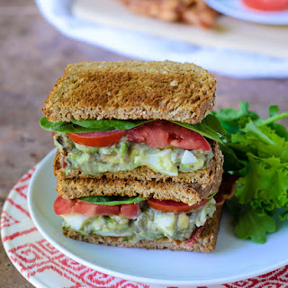 Avocado Egg Salad Sandwiches.