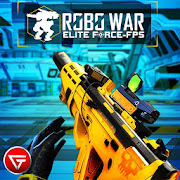Real Robots War Gun Shoot: Fight Games 2019