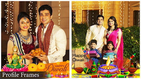 Happy Diwali Photo Frame 2