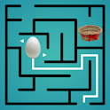 Maze Puzzle: Egg in Basket icon