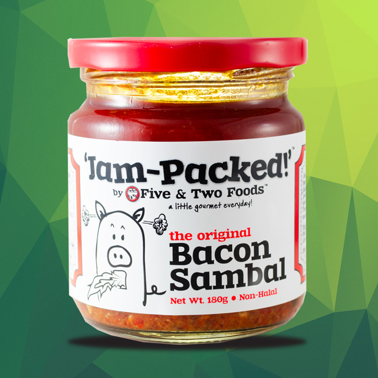 Jam-Packed's Bacon Sambal by Five & Two Fine Foods