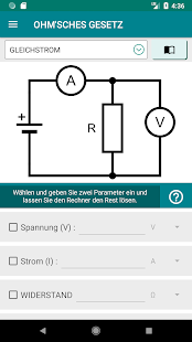 Elektronik-Engineering-Rechner PRO Screenshot