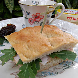 Turkey and Brie Sandwiches with Pears.