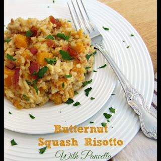 Butternut Squash Risotto With Pancetta