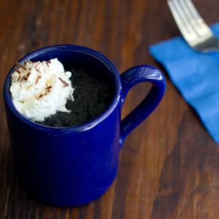 Microwave Hot Chocolate Mug Cake.