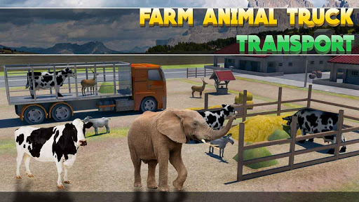 Farm Animal Truck Transport