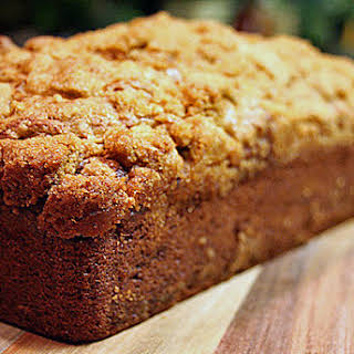 Banana Bread with Streusel Topping.