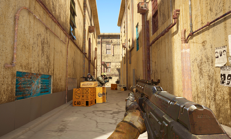 Critical Shooting Strike- screenshot