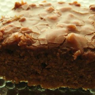 Gooey Chocolate Buttermilk Sheet Cake