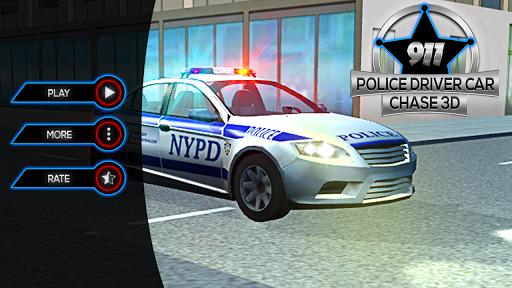 911 Police Driver Car Chase 3D  screenshots 1