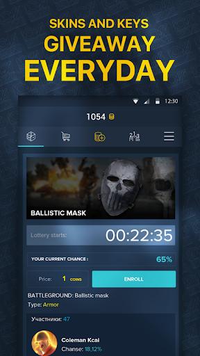 100skins.com Grab your skins for FREE 1.6.004 screenshots 2