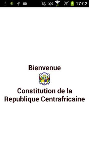 Constitution Centrafrique