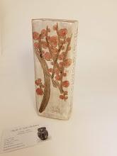 Photo: Plum Blosson Ceramic Vase Artists - Shizuko and Toshi Shichiskima Shichishimaceramics.com