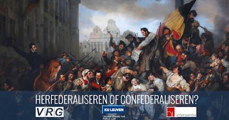 Voorzittersdebat: herfederaliseren of confederaliseren?