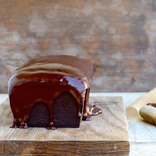 Fudgy Chocolate Banana Bread with Dark Chocolate and Coconut Cream Ganache Recipe
