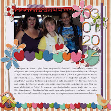 Photo: Template - This Year PhotoBook by TForMe Painting Rainbow by Pink Reptile Designs and ValC Font Handwriting PS CS
