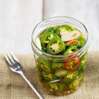 Ridiculously Easy Jalapeño Pickles.