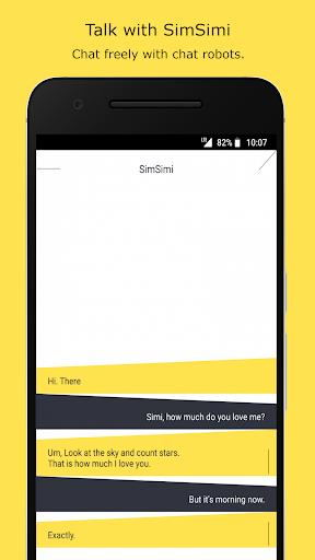SimSimi 6.8.4.6 screenshots 1
