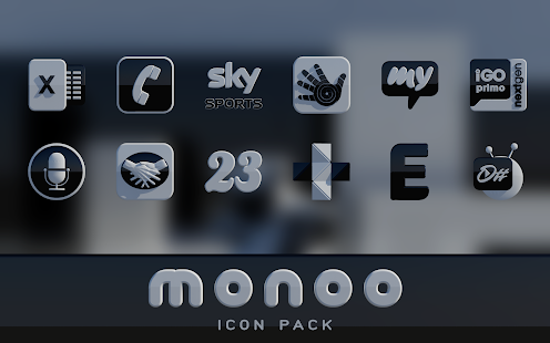 MONOO Icon Pack 3D HD Screenshot