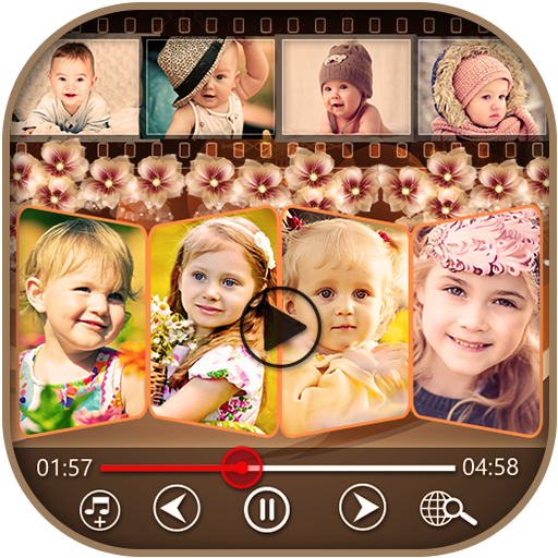 Baby Video Maker with Music