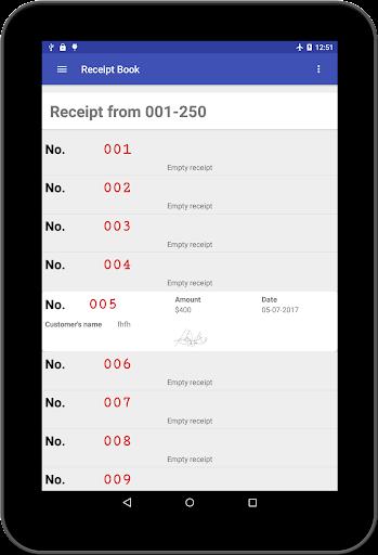Receipt book 2.4.0 screenshots 15