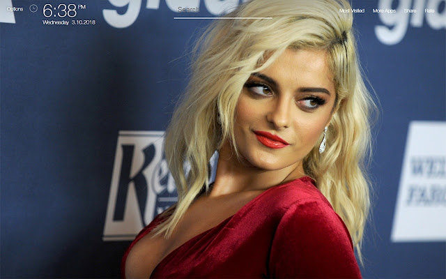 Bebe Rexha Wallpapers Hd Backgrounds Chrome Web Store