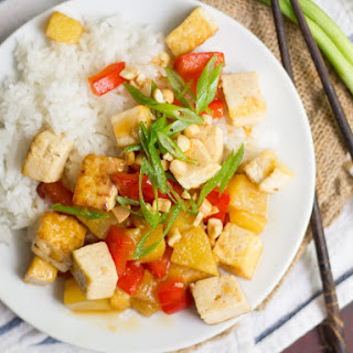 Sweet and Sour Tofu with Pineapple Recipe