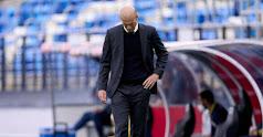 Zidane abandona el Real Madrid.