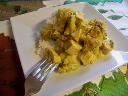 Curry Chicken and Broccoli Casserole Recipe