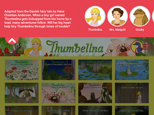 Thumbelina - Storybook - screenshot