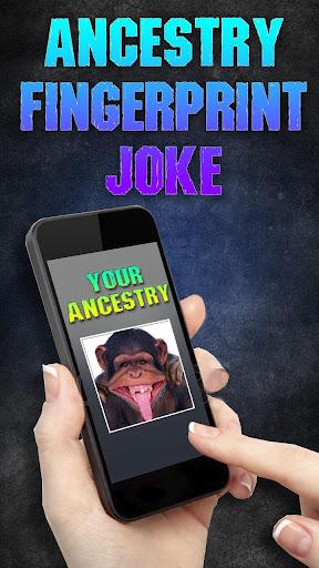 祖先指紋ジョーク