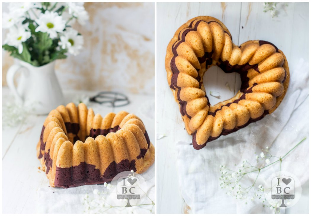 Marbled Red Velvet Bundt Cake