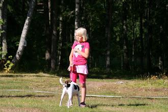 Photo: Lapsi ja koira -kilpailu