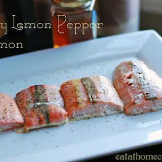 Honey Lemon Pepper Salmon – 15 Minute Meal.