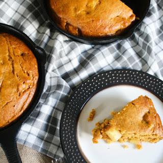 Pumpkin Apple Skillet Cake