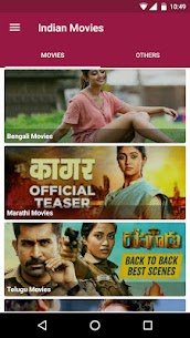 Indian Movies 🇮🇳भारतीय फिल्म, Free Movie & Music App Download For Android 4