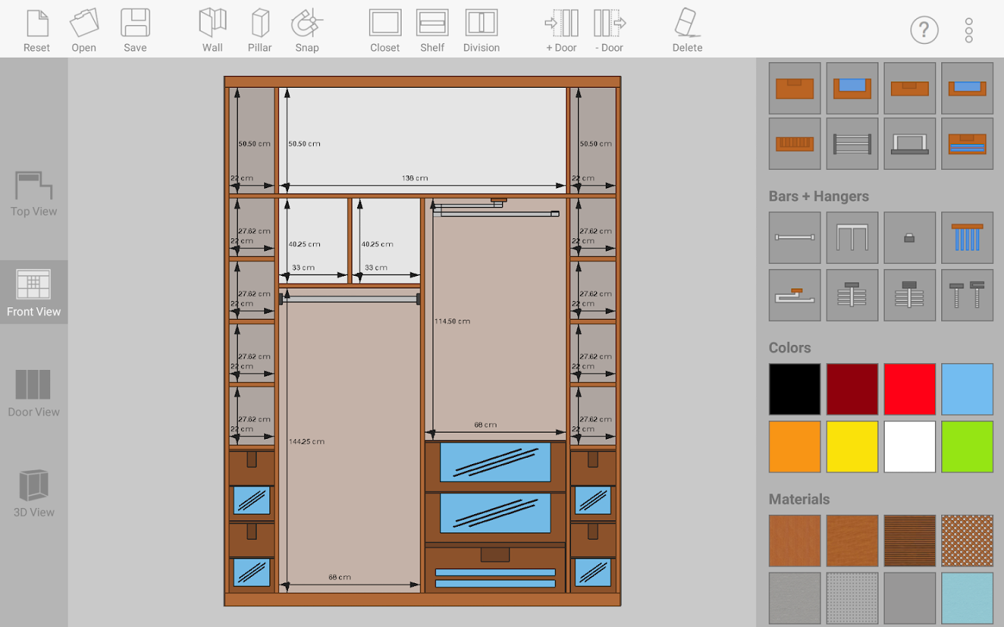 Closet Design sketch arm - closet designer - android apps on google play