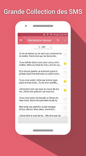 Sms Déclaration Amour By Kaloo Apps Google Play United