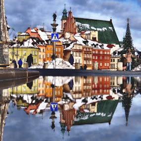 Warsaw Old Town by Steve Cooke - City,  Street & Park  Historic Districts