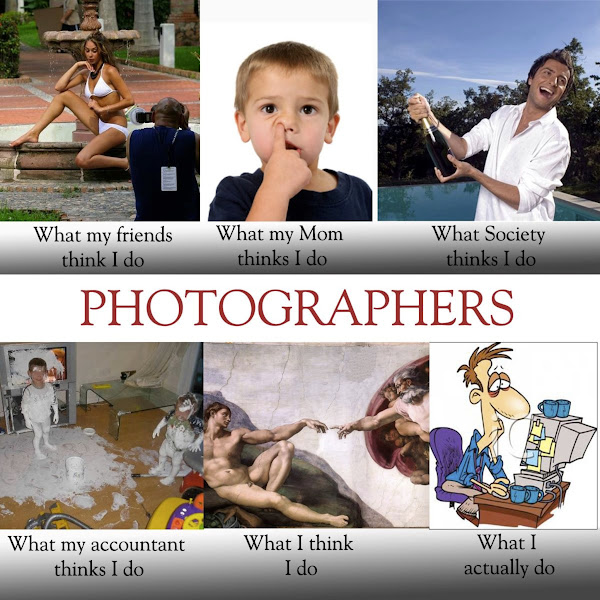 """Photo: The truth about life as a photographer  Finally someone was able to explain the reality of being a """"photographer"""".  Originally from: http://sethjacobson.wordpress.com/"""