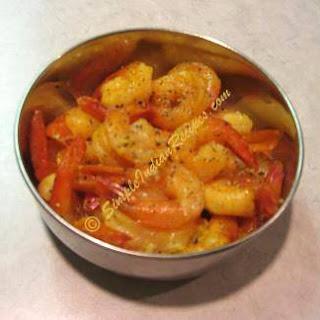 Lemon Pepper Shrimp.